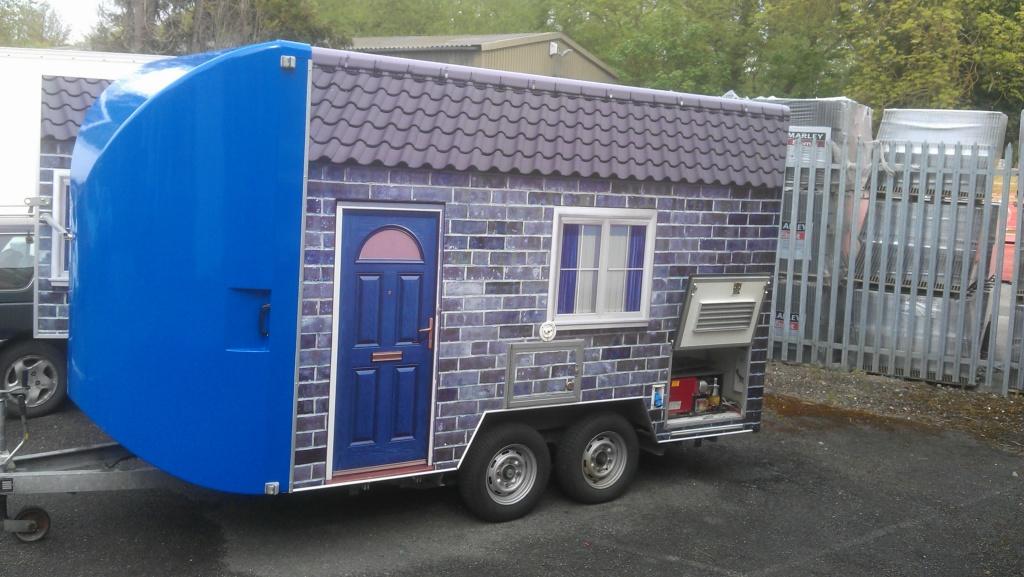 Mobile Exibition trailer