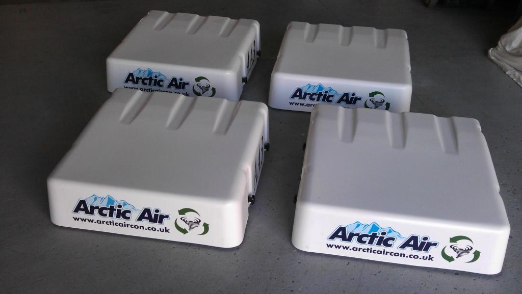 Arctic Air Atex certified AA3 overpressure systems.