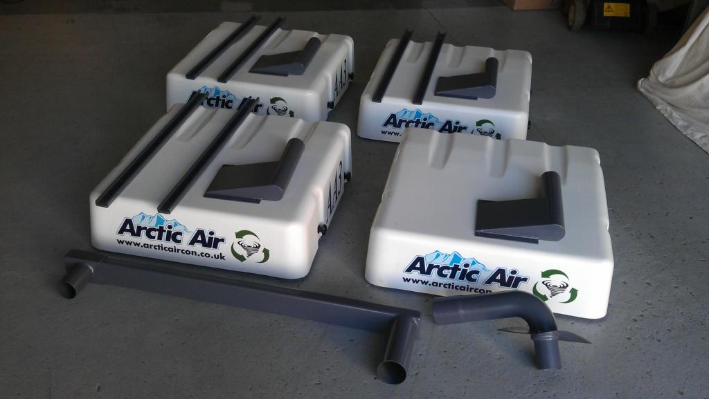 Artic Air Atex certified  cab overpressure systems