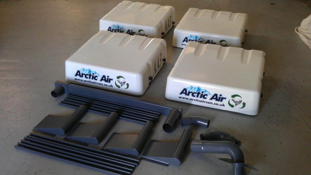 Arctic Air  Cab overpressure systems