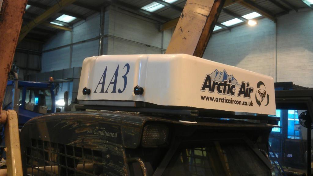 Arctic Air AA3 cab overpressure system.