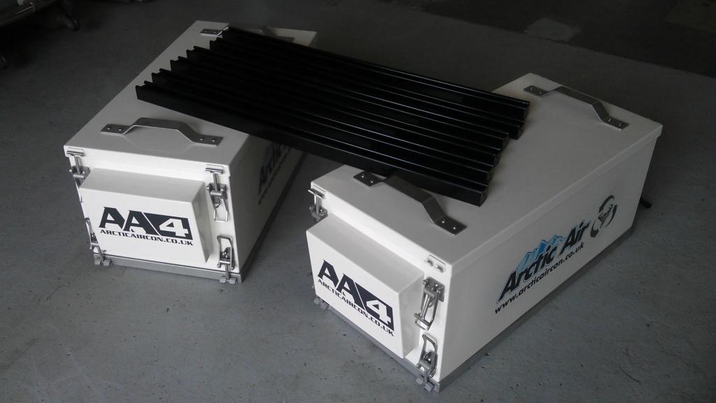 Heavy Duty Arctic Air Cab Pressurizers.