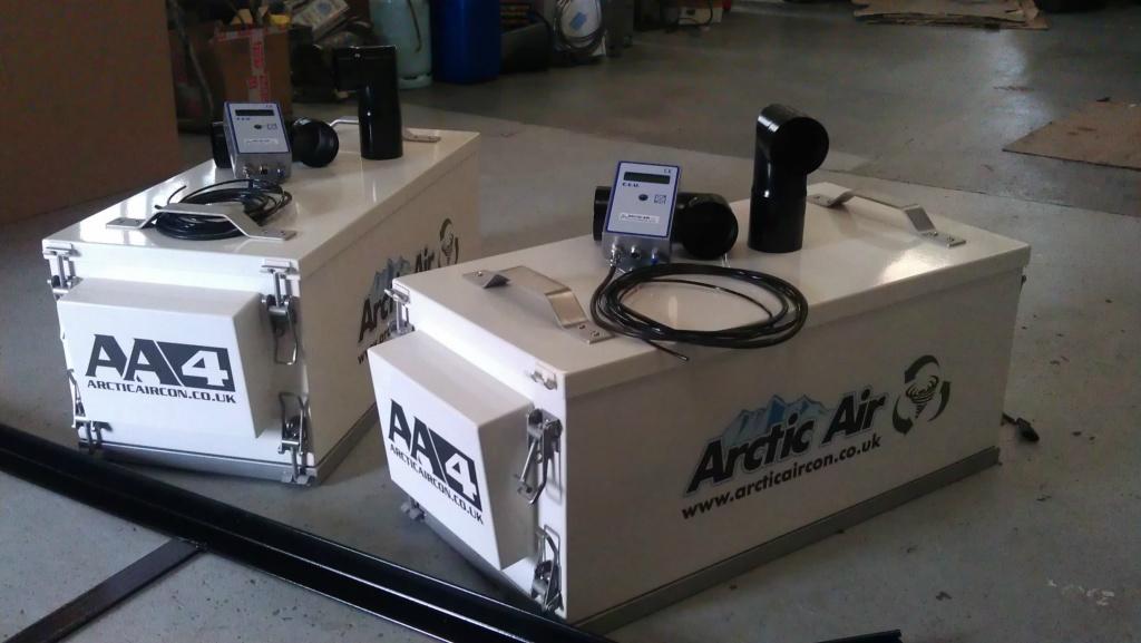 Heavy Duty Arctic Air Cabin  Pressurizers.