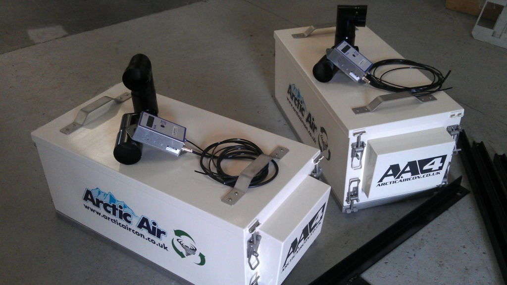 Arctic Air Atex certified cab pressurizers