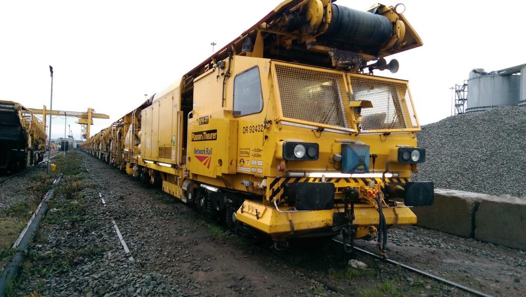 Track repair train