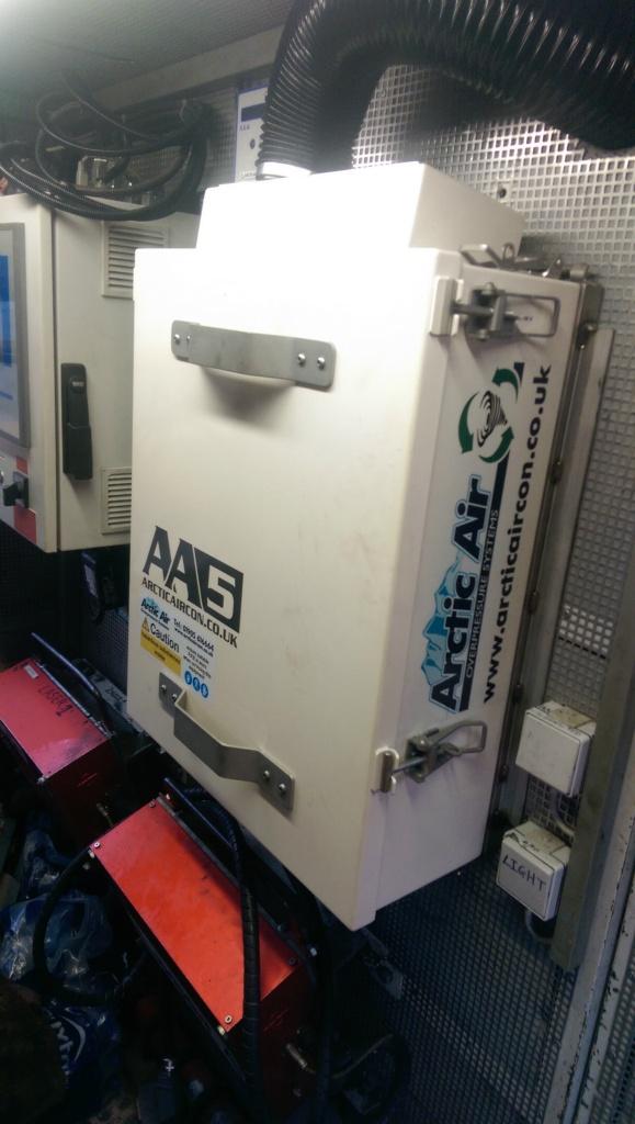 AA5 Arctic Air overpressure system