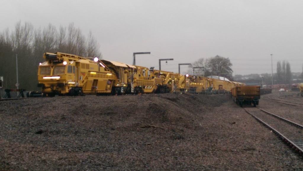 Network Rail's track repair system.