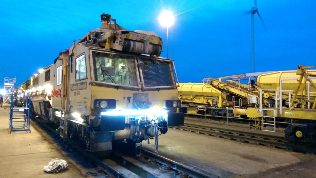 Network Rails Track repair system.