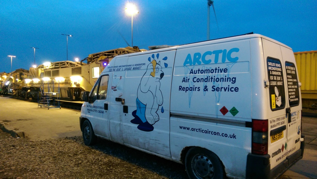 Installation of Arctic Air overpressure systems.